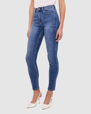 SABA Anna High Rise Jeans - Jeans (blue)