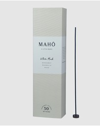 MAHO Sensory - White Musk Incense Sticks and Burner Set