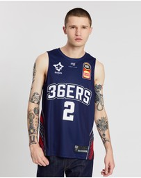 First Ever - NBL - Adelaide 36ers 19/20 Authentic Home Jersey - Deshon Taylor