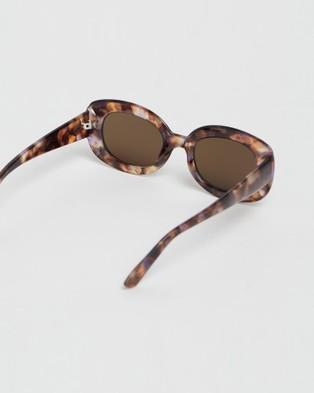 Reality Eyewear Lady Grandzigger - Sunglasses (Lilac Turtle)