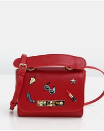 Belle & Bloom - Auguste Leather Cross-Body Bag