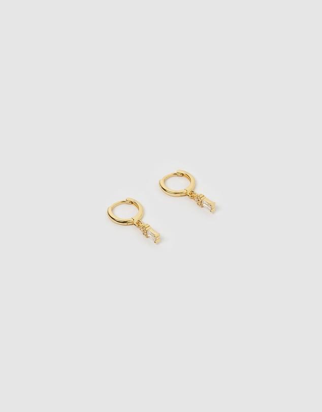 Women Carissa Huggie Earrings