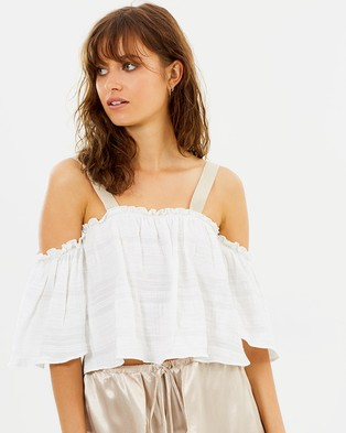 Bec & Bridge – Heavenly Sky Top – Cropped topsIvory