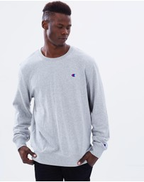 Champion - Men's Logo Crew Jumper