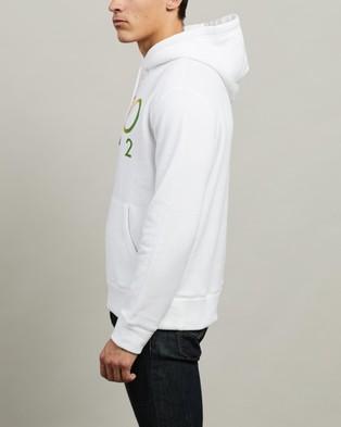 Polo Ralph Lauren Long Sleeve Knit Hoodie - Hoodies (White)
