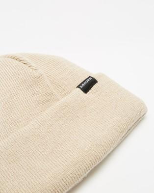 Christopher Raeburn Tab Beanie - Headwear (Off White)
