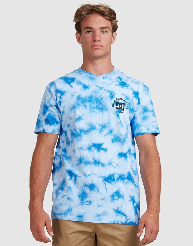 DC Shoes - Mens Tie Dye Star T-Shirt