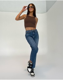 TOPSHOP - Straight Jeans
