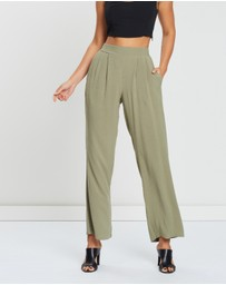 Atmos&Here - ICONIC EXCLUSIVE - Suzie Wide Leg Linen Pants