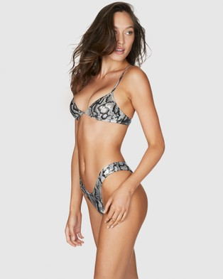 Bond-Eye Swimwear Paris Tri Top WHITESNAKE