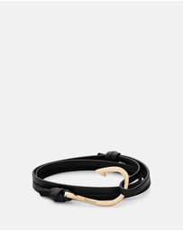 Miansai - Hook On Leather Bracelet