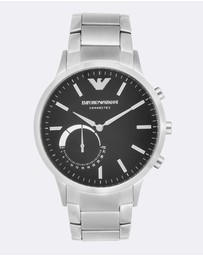 Emporio Armani - Silver Men's Digital Watch