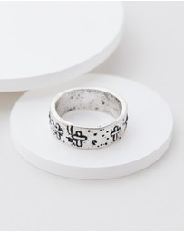 Icon Brand - Cross It Off Ring
