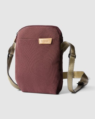 Bellroy City Pouch - Bum Bags (Red-purple)