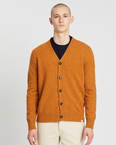 Adam Lambswool Cardigan