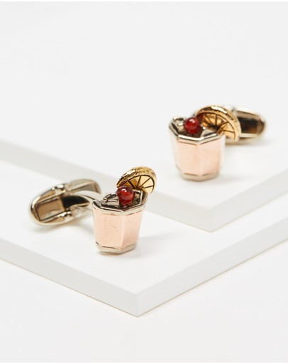 Paul Smith - Whiskey Sour Cufflinks