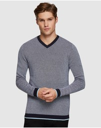 Oxford - Andy V-Neck Pullover