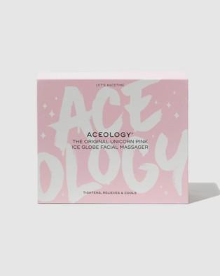 Aceology - Ice Globe Facial Massager Massage (Pink Unicorn)
