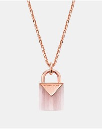Michael Kors - Premium Rose Gold-Tone Necklace