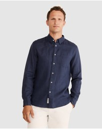 Sportscraft - Long Sleeve Linen Shirt
