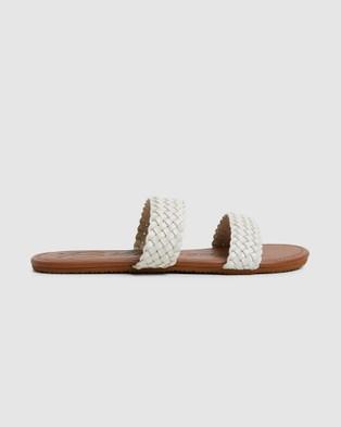 Billabong Endless Summer Slides - Slides (WHITE)