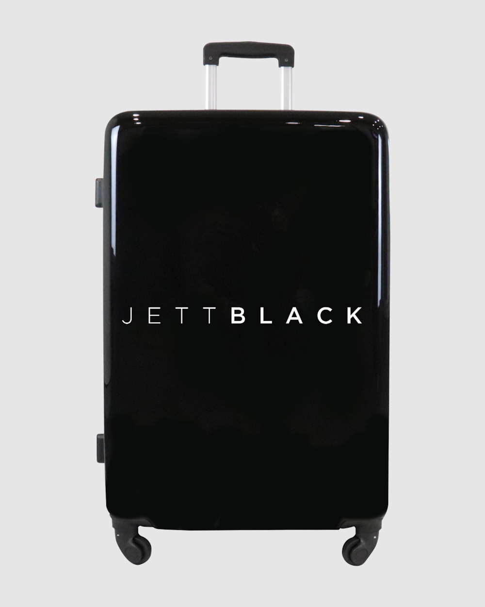 JETT BLACK Jett Black Signature Large Suitcase Outdoors Black
