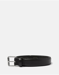 Topman - Double Keeper Leather Belt