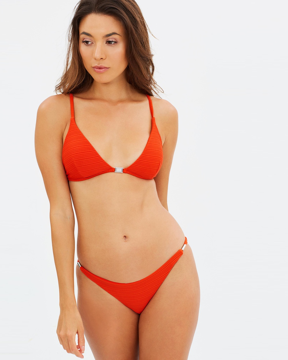 JETS Mini Pants Bikini Bottoms Rust Mini Pants