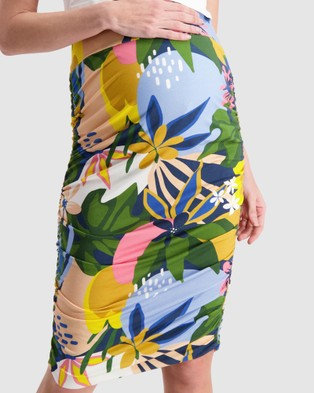 Maive & Bo Kasey x Maive Above Bump Skirt - Skirts (Multi)