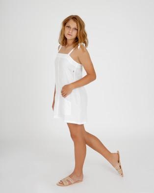 Hendrik Clothing Company The Strap Dress - Dresses (White)