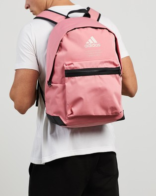 adidas Performance Classic Twill Backpack - Outdoors (Hazy Rose & Alumina)
