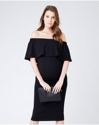 Ripe Maternity - Soiree Off-Shoulder Dress