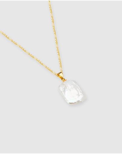 Alix Yang Marlin Necklace Gold