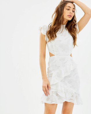 C/MEO COLLECTIVE – Ember SS Dress Ivory