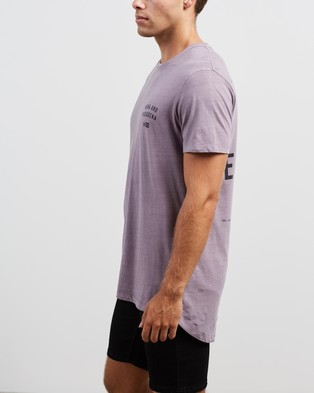 Nena & Pasadena Evil Empire Cape Back Tee - T-Shirts & Singlets (Pigment Lilac)
