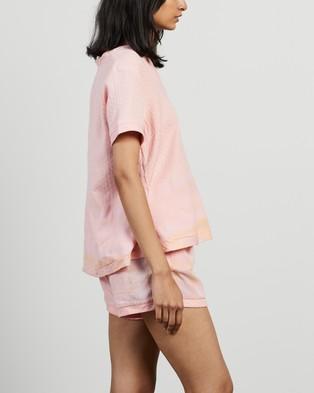 Cecilie Copenhagen - Shirt V SS Tops (Pale Dogwood)