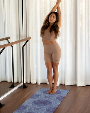 Bowern Spirit Yoga Mat - Gym & Yoga (Blue/White)