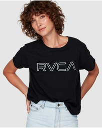 RVCA - Keyline Rvca Box Tee
