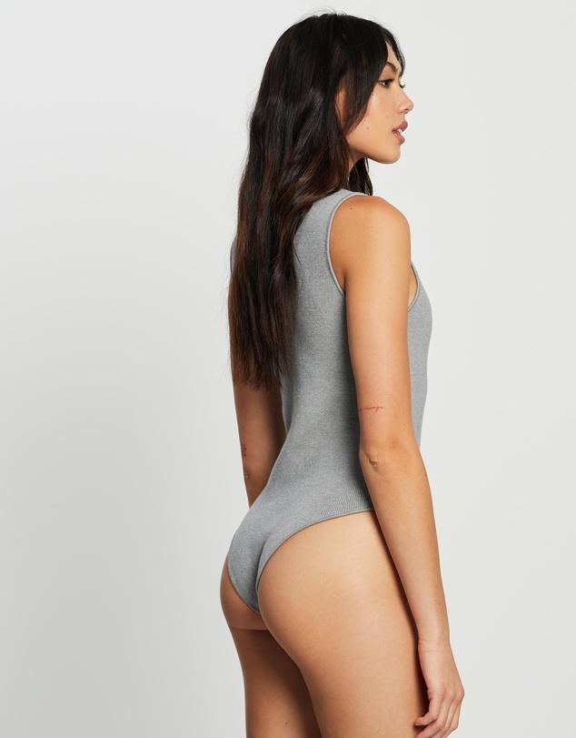 Women Sonny Basic Knit Bodysuit