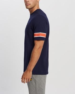 Lyle and Scott Rib Insert T shirt - T-Shirts & Singlets (Navy)