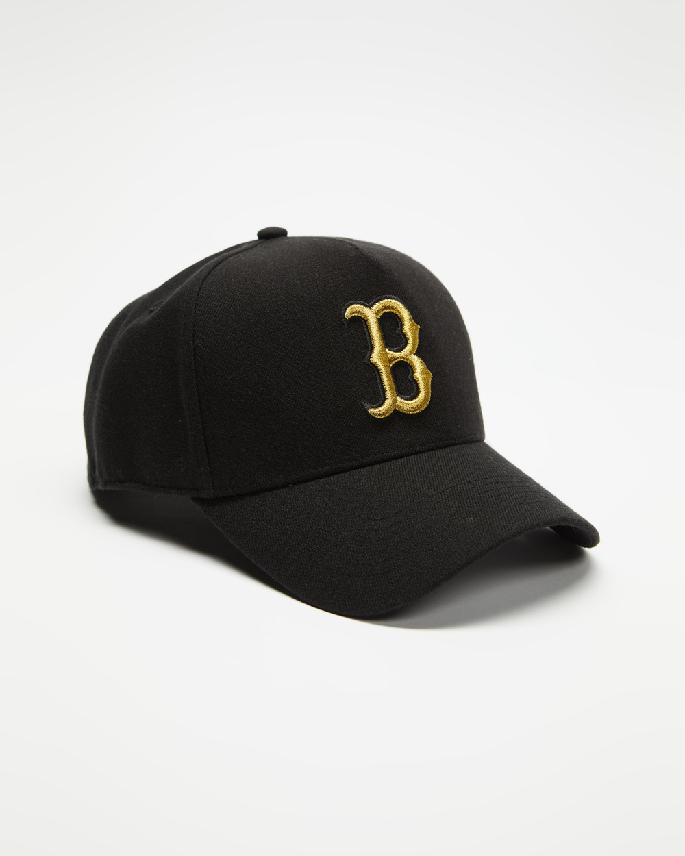 47 Boston Red Sox Metallic 47 MVP DT Snapback Headwear Black & Gold