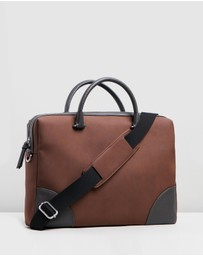 Ted Baker - Matcher Nubuck Document Bag