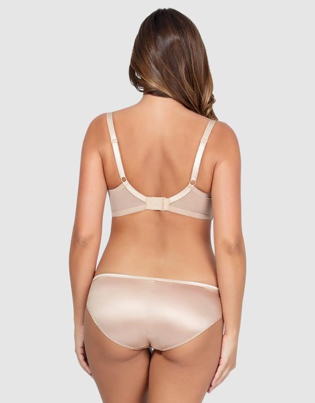Women Charlotte Satin Bikini Brief