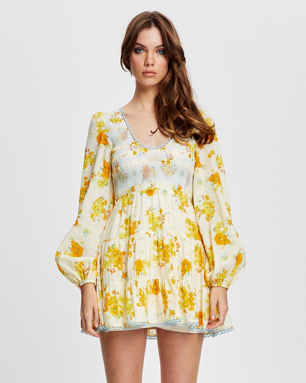 alice McCALL Cinnamon Girl Mini Dress Dresses Multi