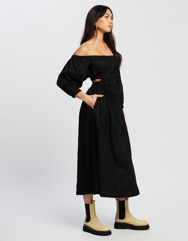 Women Uno Cut-Out Midi Dress
