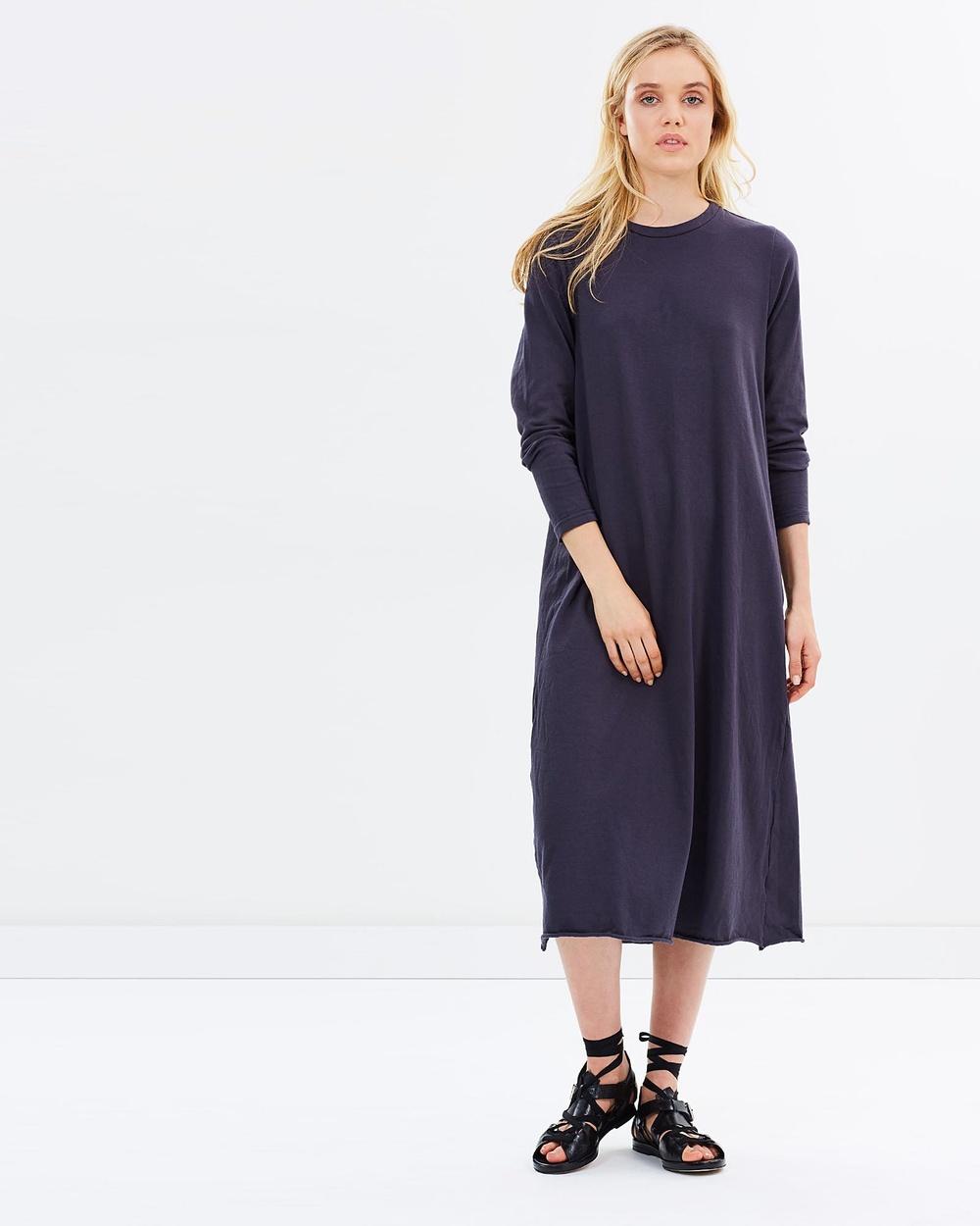 Primness Box Straight Dress Dresses Smoked Charcoal Box Straight Dress