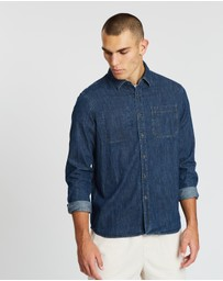 Saturdays NYC - Kenmare Denim LS Shirt