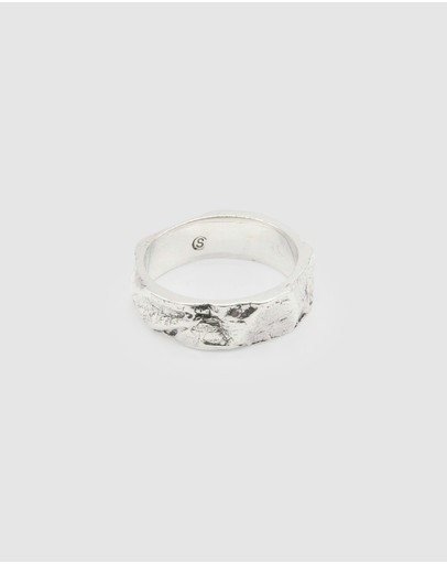 Cameron Studio Creases Ring Sterling Silver