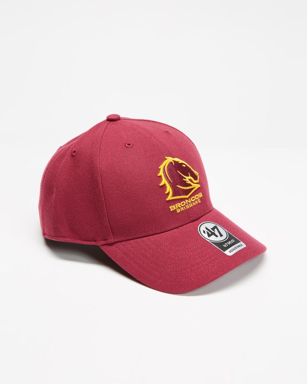 47 Brisbane Broncos '47 MVP Snapback Headwear Maroon