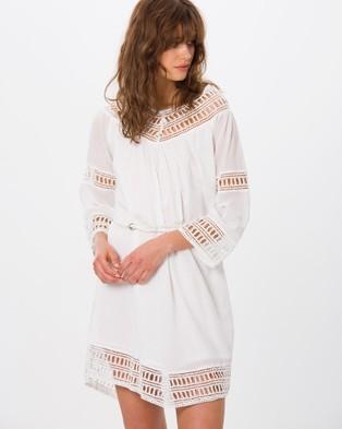Kaja Clothing – Charlize Dress Ivory